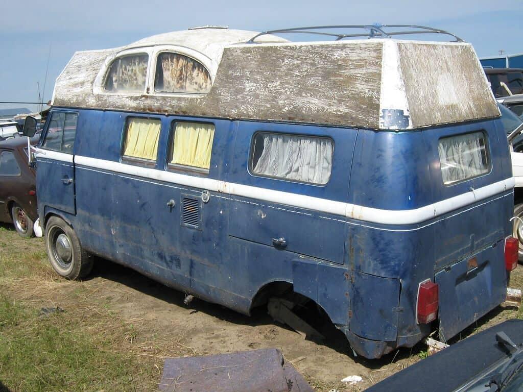 Cost of living in a van UK