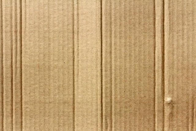 brown cardboard close up corrugated 479450