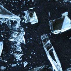 Broken Freezer mason jar