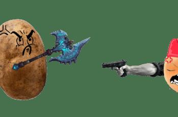 potatoe war