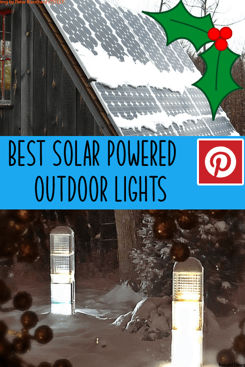 The best outdoor solar powdered nightlights 2020