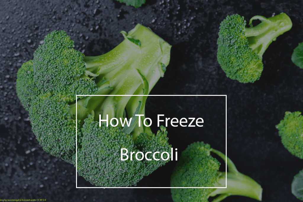 How to freeze broccoli pin