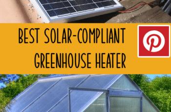 solar greenhouse heater 2020