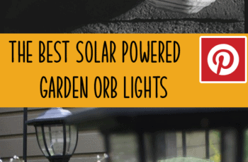 solar powered garden orb lights