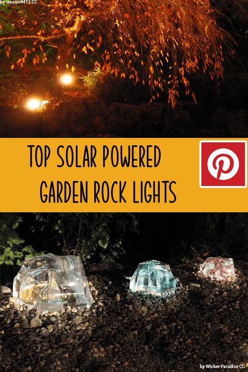 tOP 3 SOLAR POWERED GARDEN ROCK LIGHTS