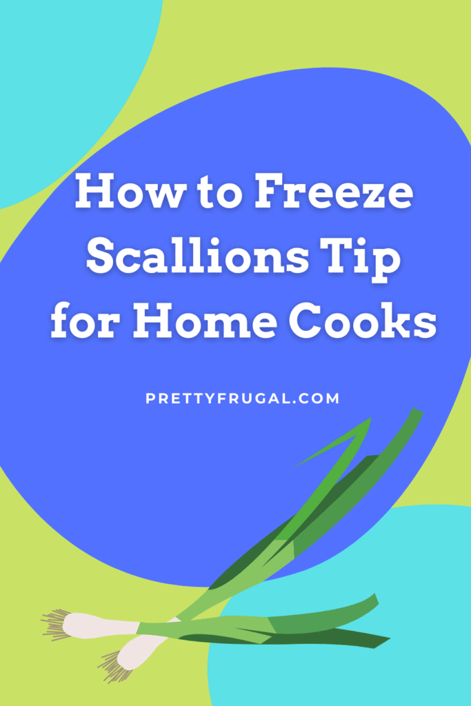 How to Freeze Scallions Tip for Home Cooks