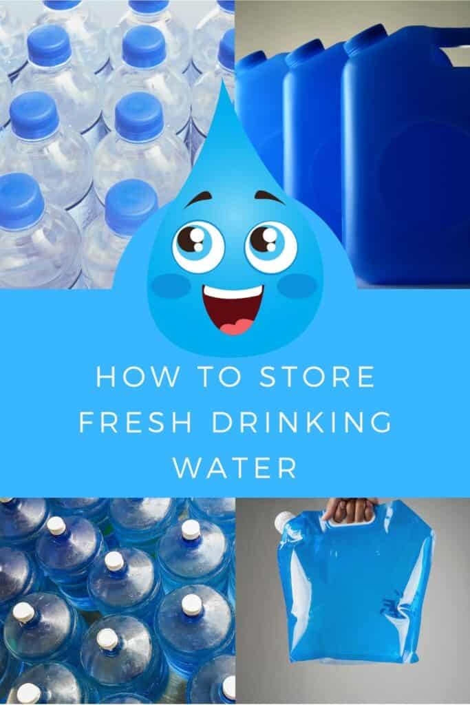 How to Store Fresh Drinking Water 1