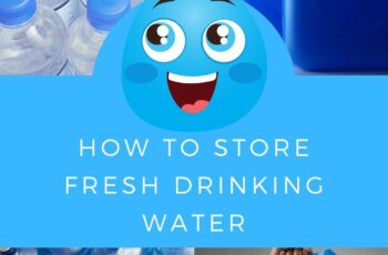 How to Store Fresh Drinking Water