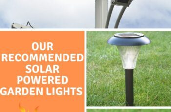 Our recommended Solar Powered Garden Lights