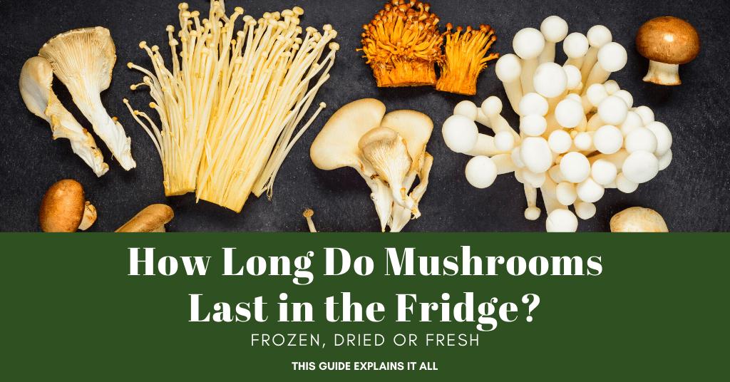 How Long Do Mushrooms Last in the Fridge